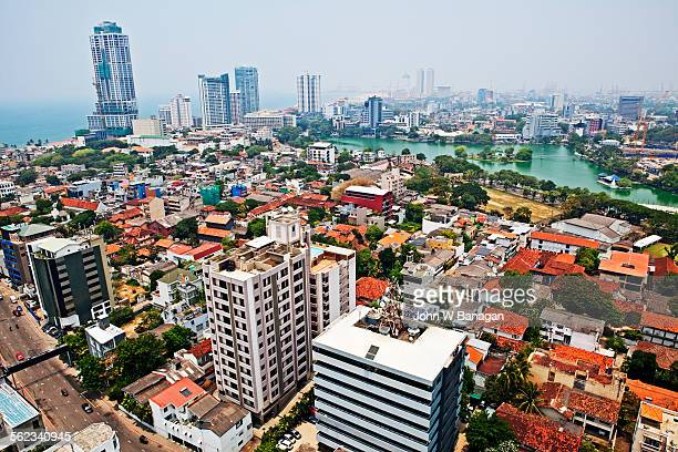 Colombo city skyline, Colombo