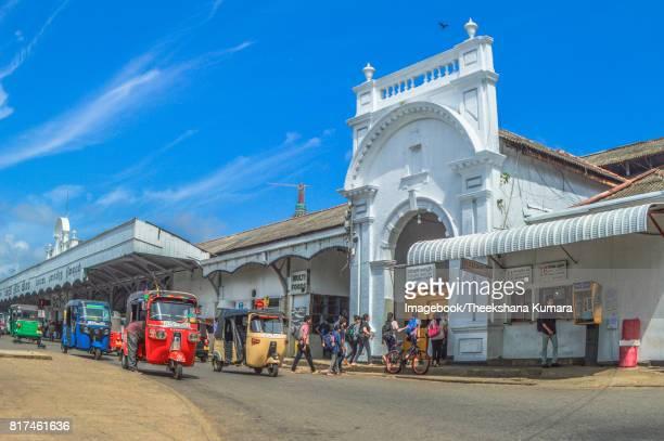 Colombo Fort Railway Station, Sri Lanka.