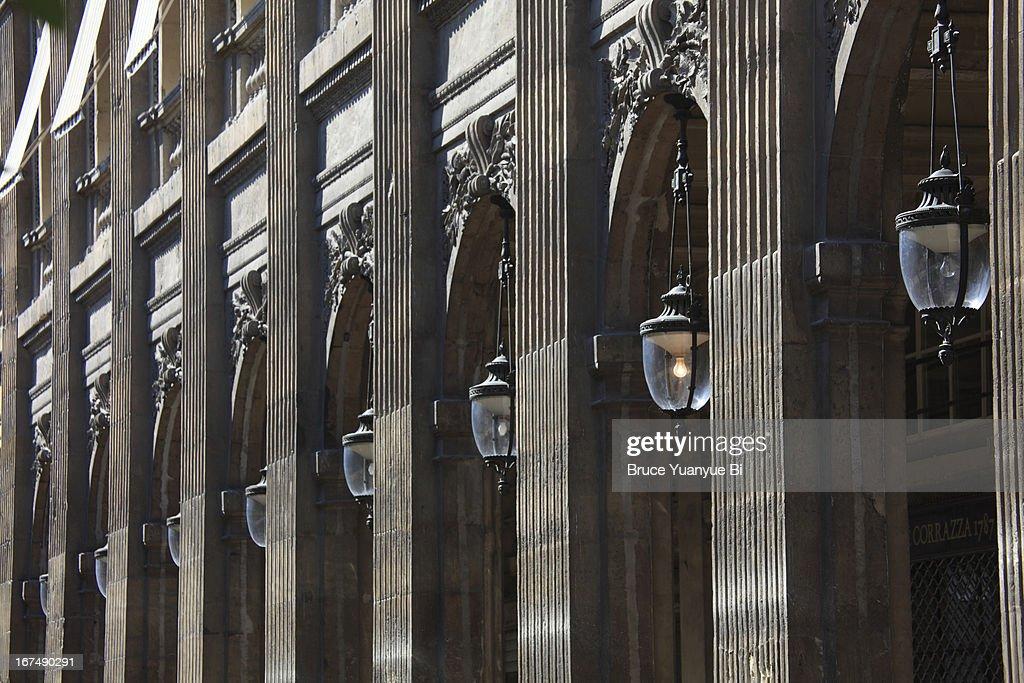Colonade of Palais Royal or Royal Palace