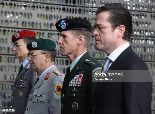 Colonel Hubertus von Rohr General lieutenant of the German armed forces the Bundeswehr Bruno Kasdorf General Stanley A McChrystal Commander US Forces...