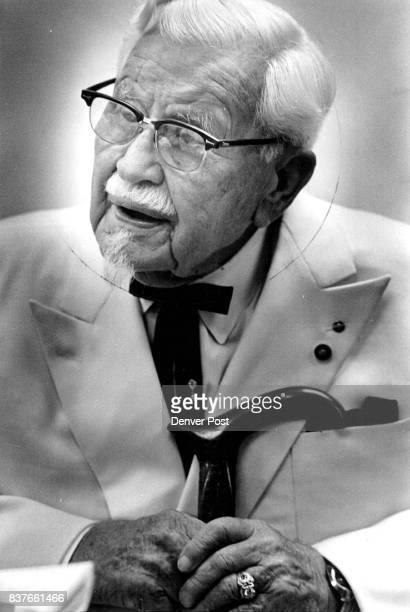 Colonel Sanders 'Don't quit at age 65' Credit Denver Post