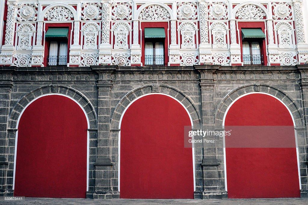 Colonial Architecture of Puebla, Puebla, Mexico