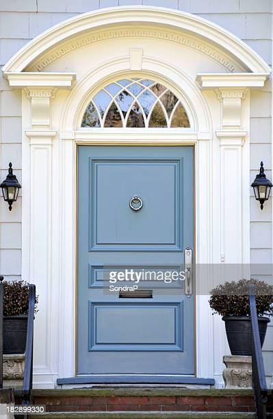 Colonial Blue Door