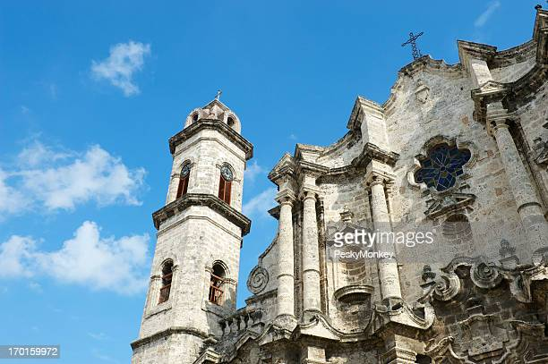 Colonial Kathedrale in der Altstadt von Havanna, Kuba