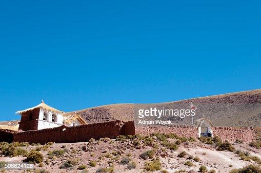 Colonial Church - Machuca - Chile : Stock Photo