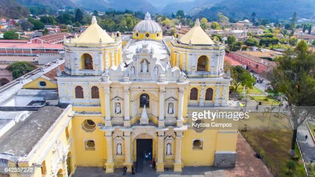 Colonial church of Nuestra Señora de la Merced, Antigua, Guatemala