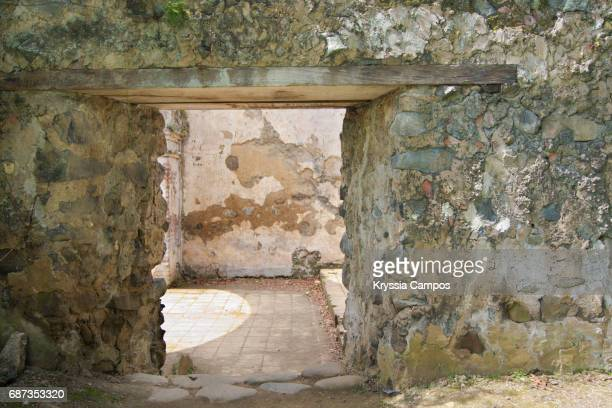 Colonial church´s door, Costa Rica
