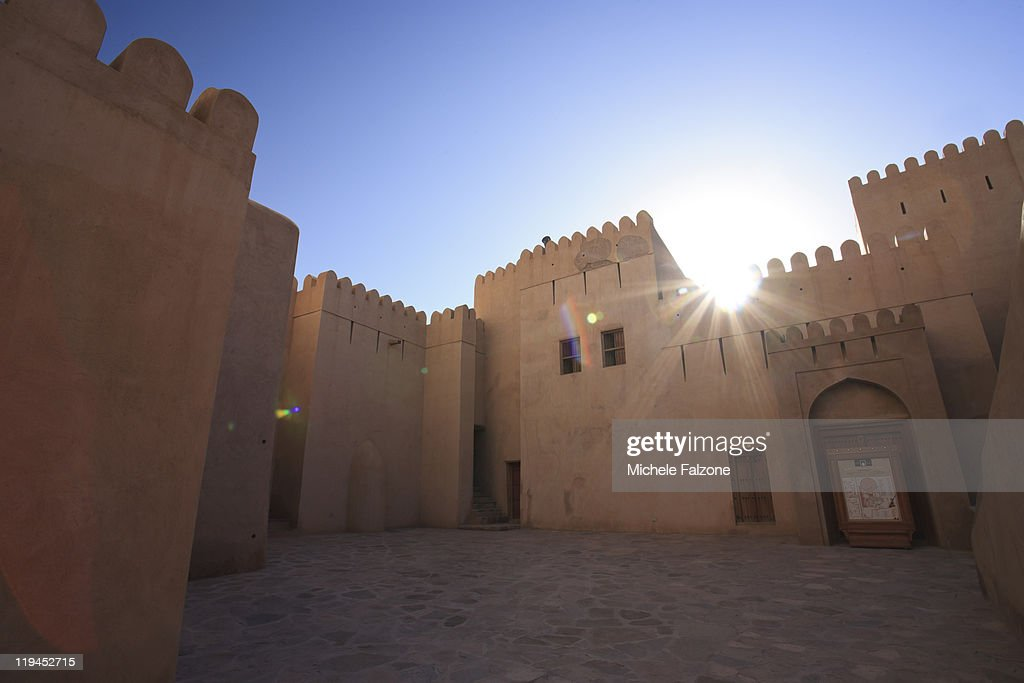 Colonial Fortress in Oman