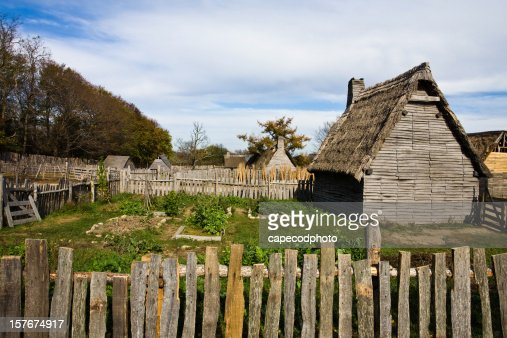 Colonial homes and garden