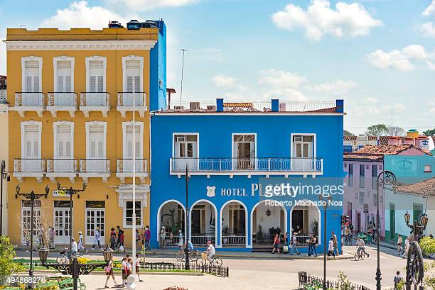 Colonial style hotels in Cuba The colonial style Hotel Encanto Plaza in Sancti Spiritus Hotel Encanto Plaza built in 1843 is a cultural and...