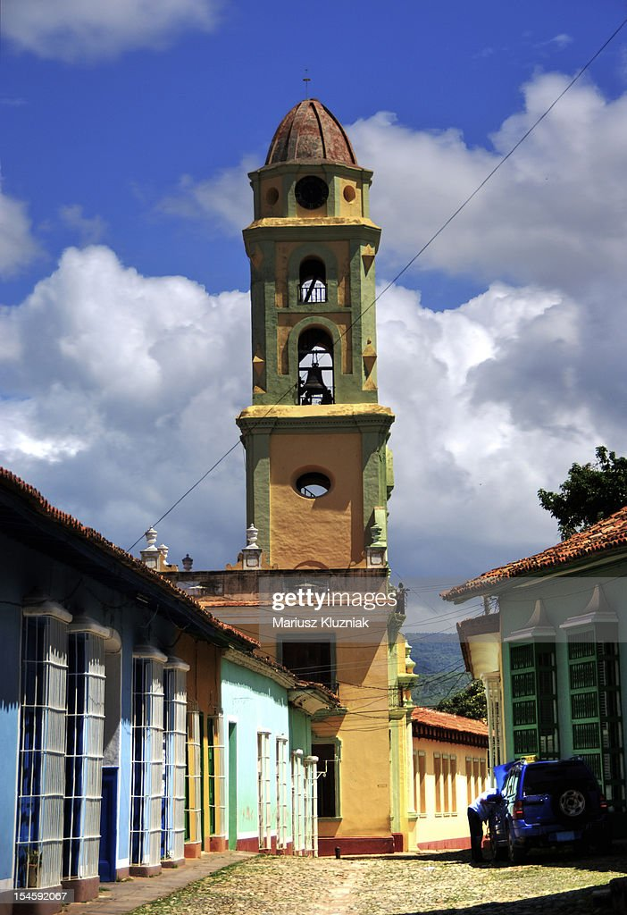 Colonial town : Stock Photo