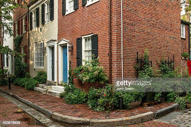 Colonial townhouse on Jessup Street in Old City