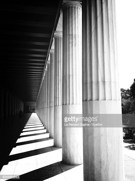 Colonnade At Stoa Of Attalos