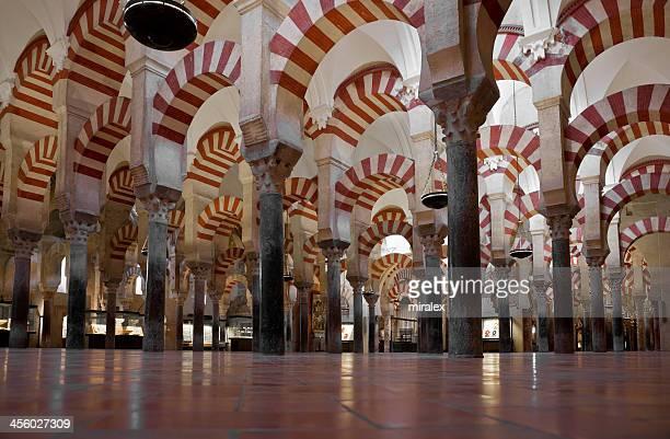 Colonnade of La Mezquita Cathedral (C?rdoba Mosque)