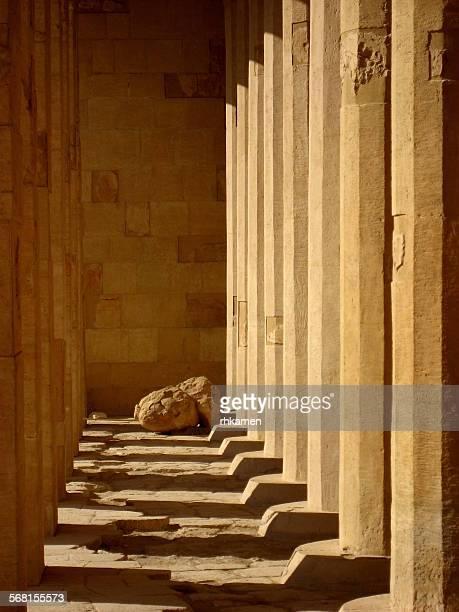 Colonnade, Queen Hatshepsut's temple, Luxor, Egypt