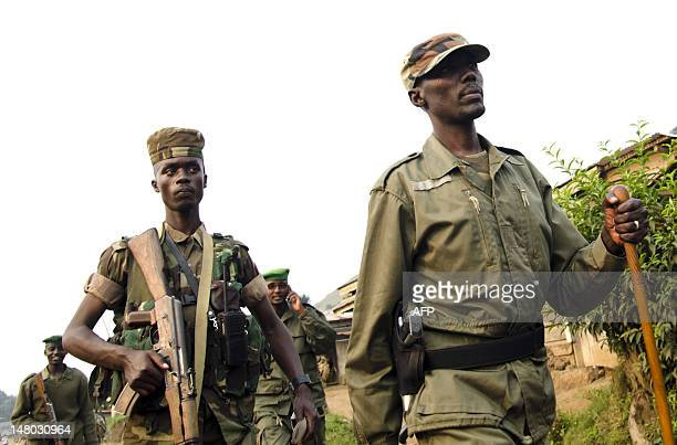 Colonnel Sultani Makenga head of the rebel M23 group is touring Bunagana a town near the Ugandan border The Indian peacekeeper in the UN mission in...