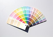 Color catalog on white background.