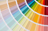 it is very enjoyable to choose the color from the color paint catalog, but it is also hard. The colors are all very attractive.
