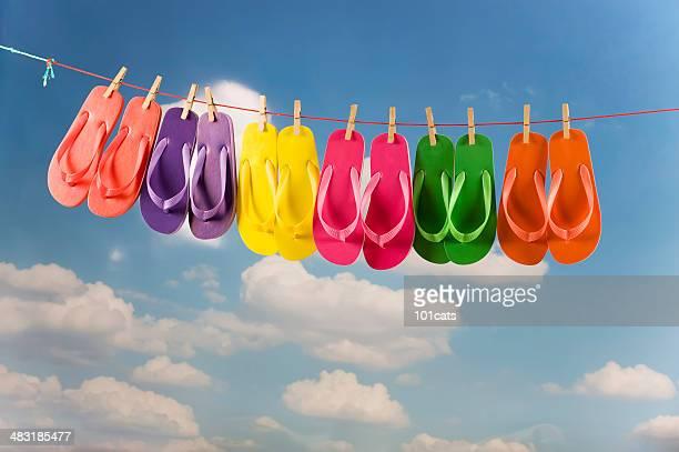 color flip flop