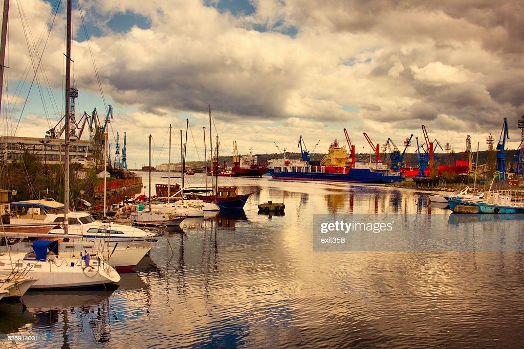color harbor : Stock Photo