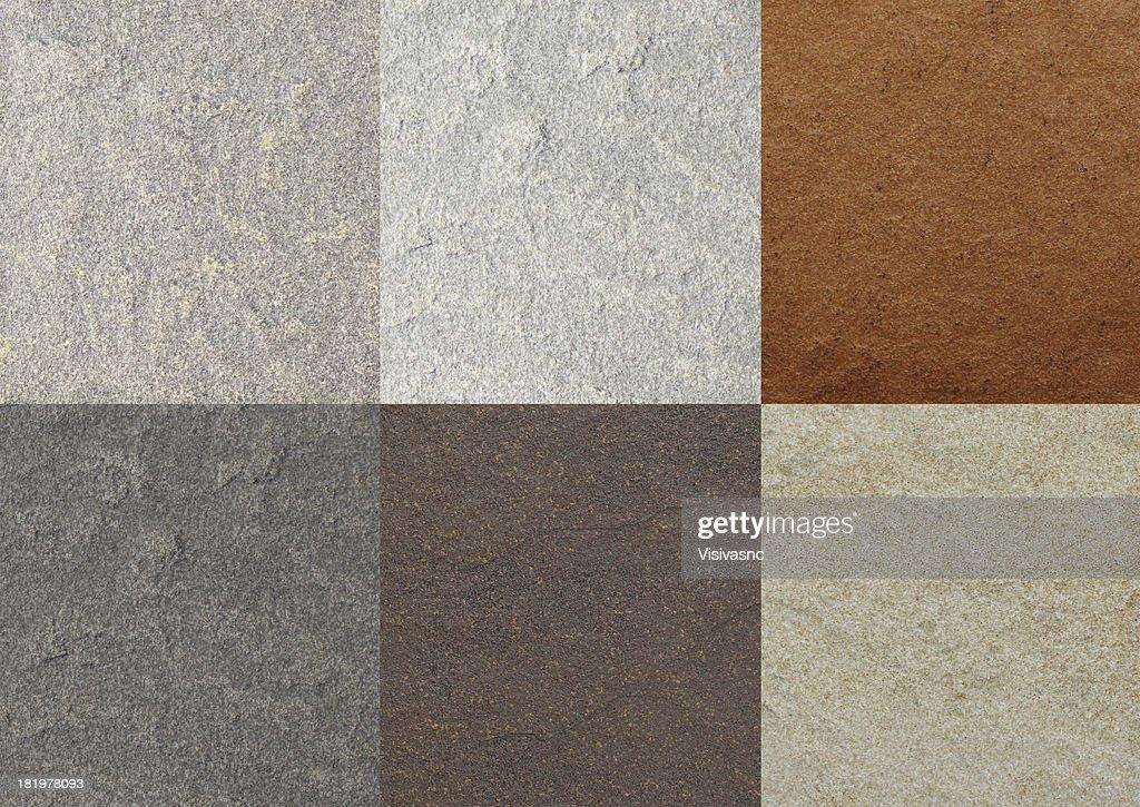 Texture piastrelle in marmo di colore collage foto stock thinkstock
