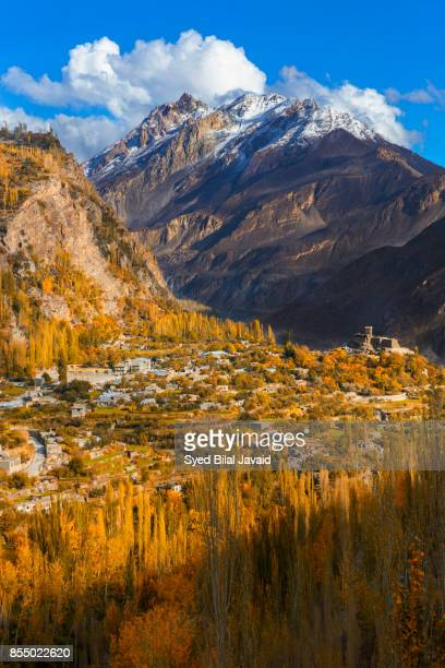 Color of Autumn at Hunza Valley