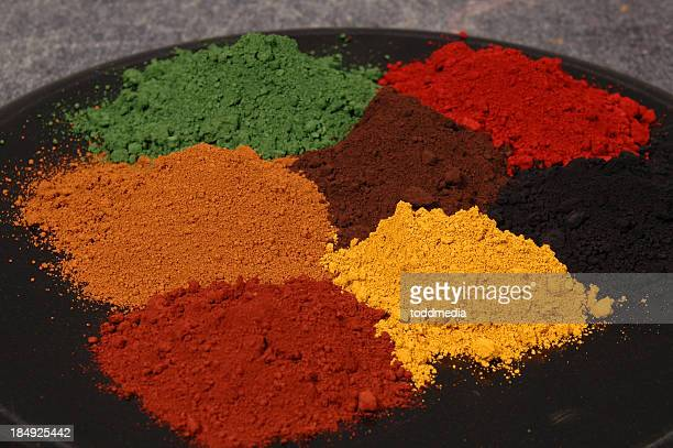 Pigments couleurs