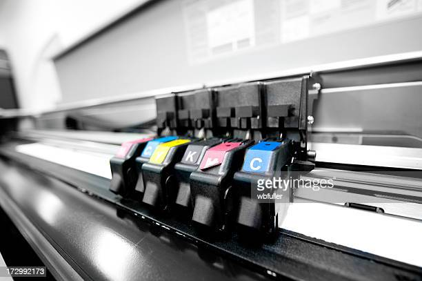 Color Printer Printing