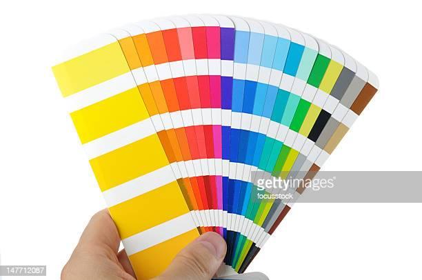 Campione di colore foto e immagini stock getty images - Scale di colore ...