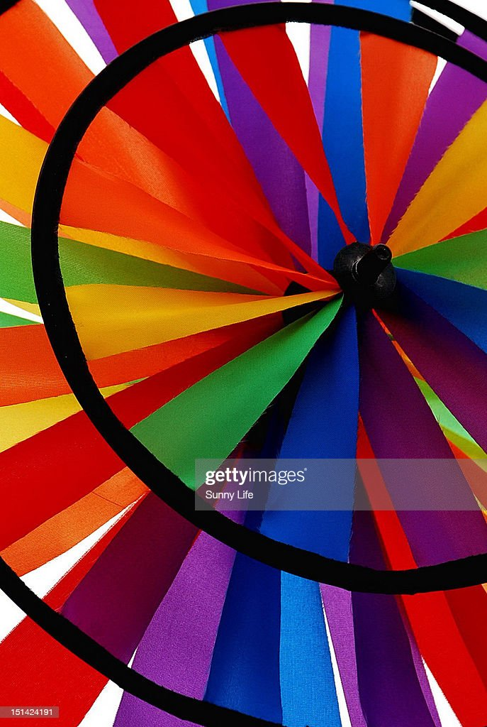 Color windmill : Stock Photo