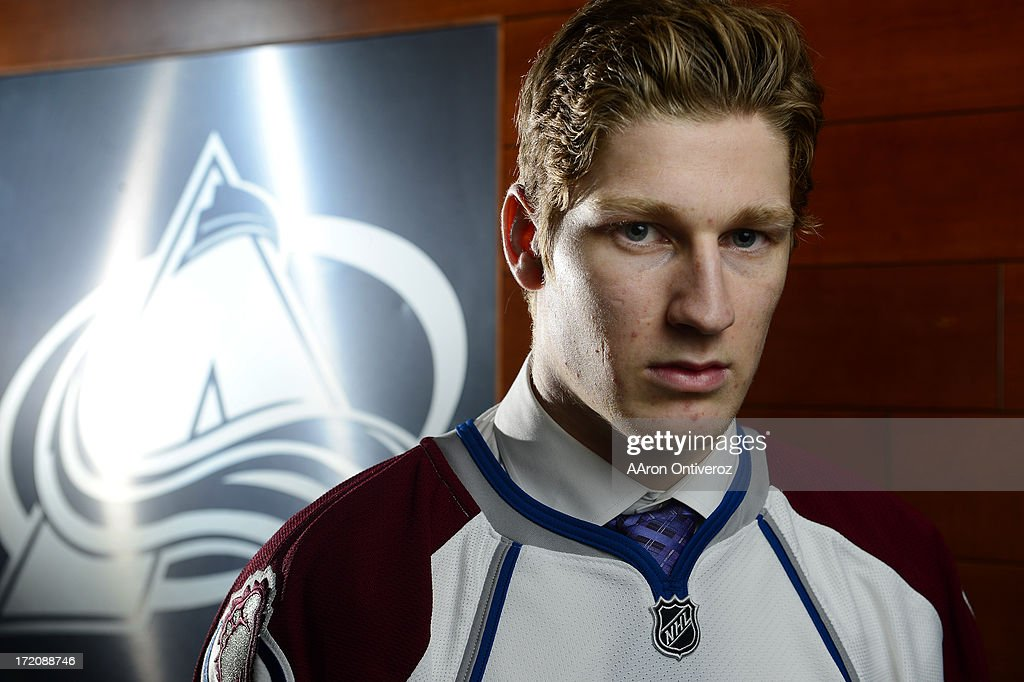 Colorado Avalacnhe of the NHL welcome number one overall draft pick Nathan MacKinnon at Pepsi Center