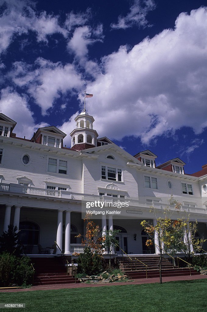 USA Colorado Estes Park Historic Stanley Hotel