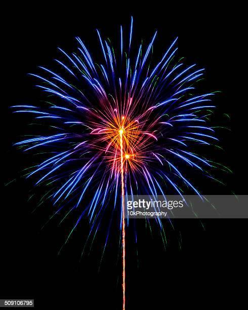 USA, Colorado, Fireworks