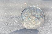 USA, Colorado, Frozen Bubble