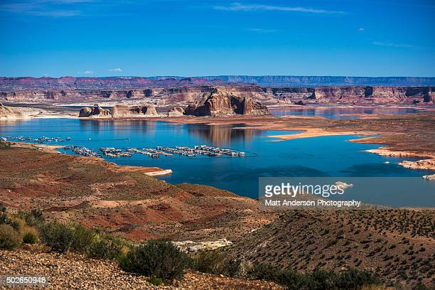 Colorado River Lake Mead View