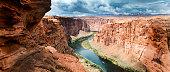 Colorado River at the Grand Canyon National Park, Arizona, USA