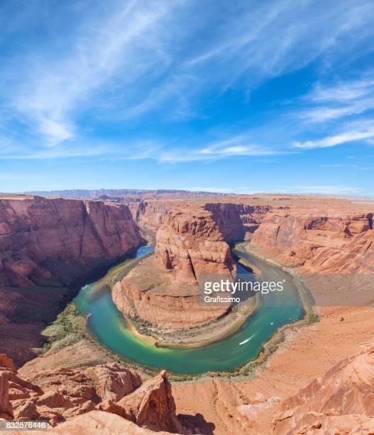 Colorado River mit Hufeisen in der Nähe der Stadt Page in Arizona