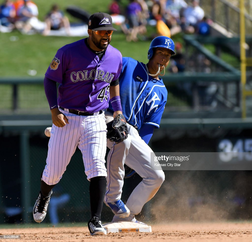 Colorado Rockies vs. Kansas City Royals spring training