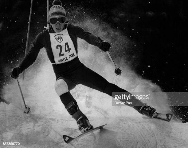 Colorado Skier Making Fast Tracks Dale Pearson gave buffs a sixth place with this giant slalom run in meet last weekend at Winter Park Credit Denver...