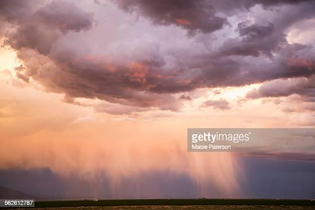 USA, Colorado, Sky at sunset