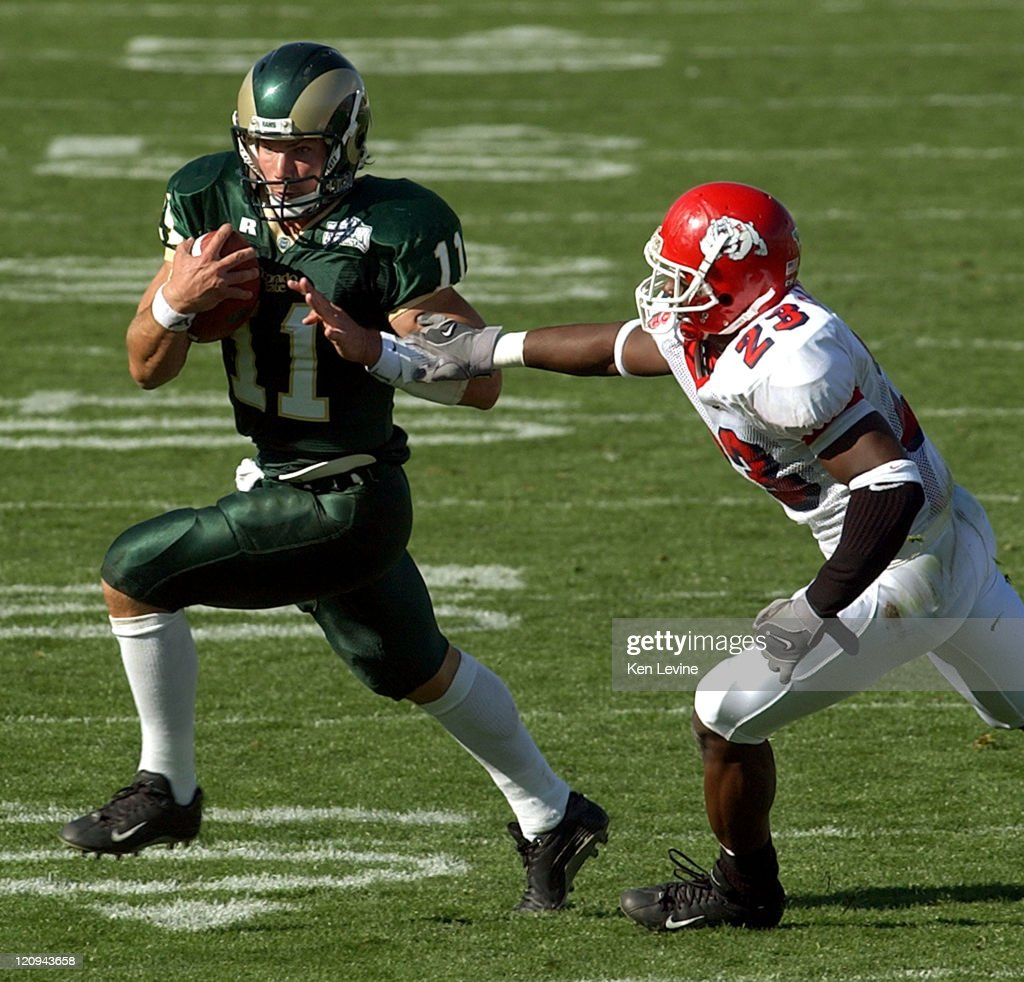 Colorado State Quarterback Van Pelt