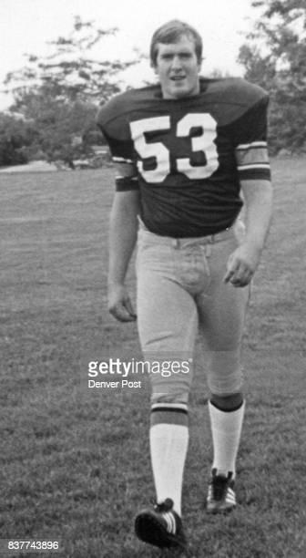 Colorado University * Football Tom Bevans CU Football 1972 Credit Denver Post