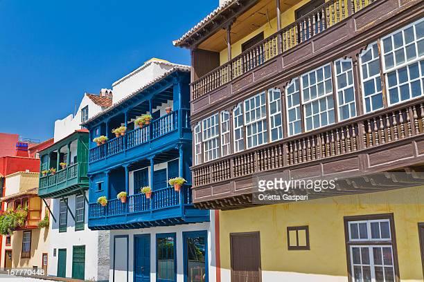 Farbige Balkone, Santa Cruz de la Palma