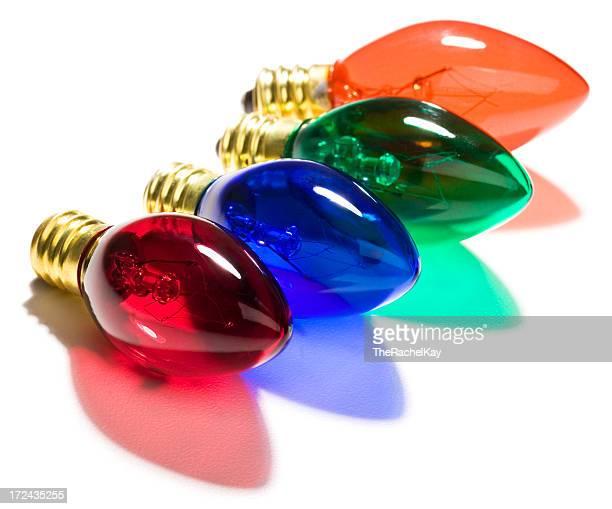 Bunte Lichterkette