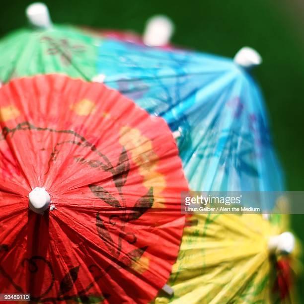 Colored Cocktail Umbrellas