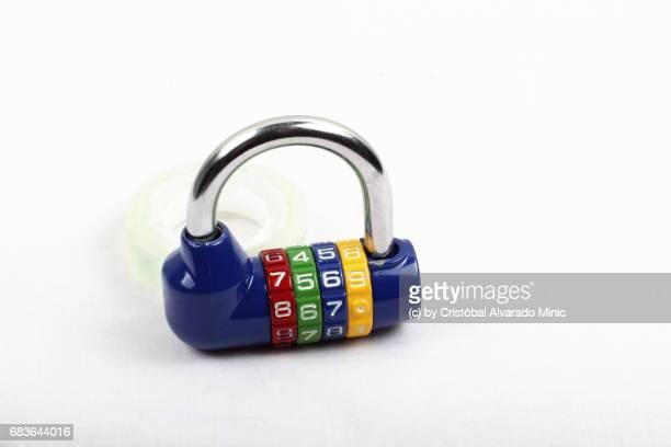 Colored Combination Lock