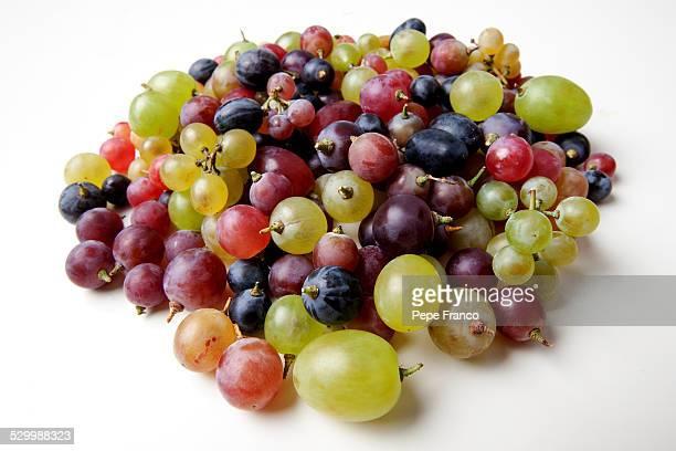 Colored grapes