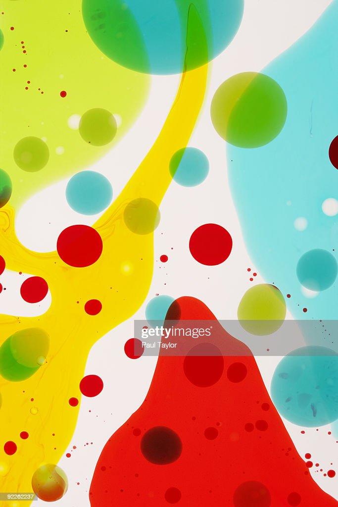 Colored liquids : Stock Photo