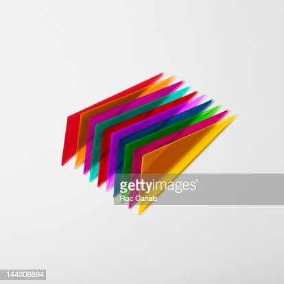 Colored methacrylate : Stock Photo