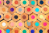 """""""Colored pencils macro, can be used as a background"""""""